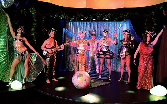 Hello again Burlesque Show I